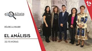 El Análisis de Teleelx, dirigido por Daniel Gonzálvez, con las 4 tertulianas: Mayte Vilaseca María Asunción Vicente Ripoll, Carmen Palomar y Purificación